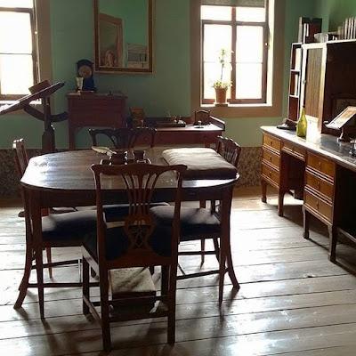 Escritorio de Goethe en Weimar