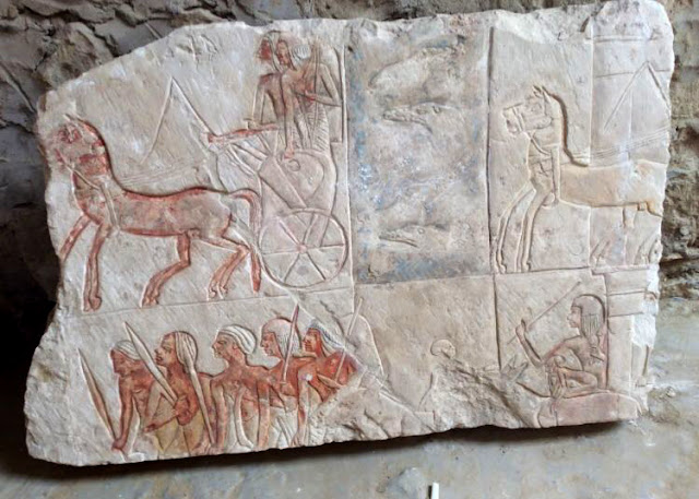 Tomb of great Ramesses II era general discovered in Saqqara