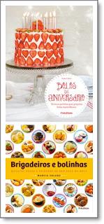 livro receitas bolos de aniversário