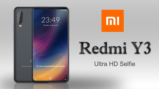 Smartphone Redmi Y3 Goda Pasar Dengan Kamera Selfie Beresolusi 32 MP