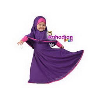 gambar contoh gamis anak terbaru