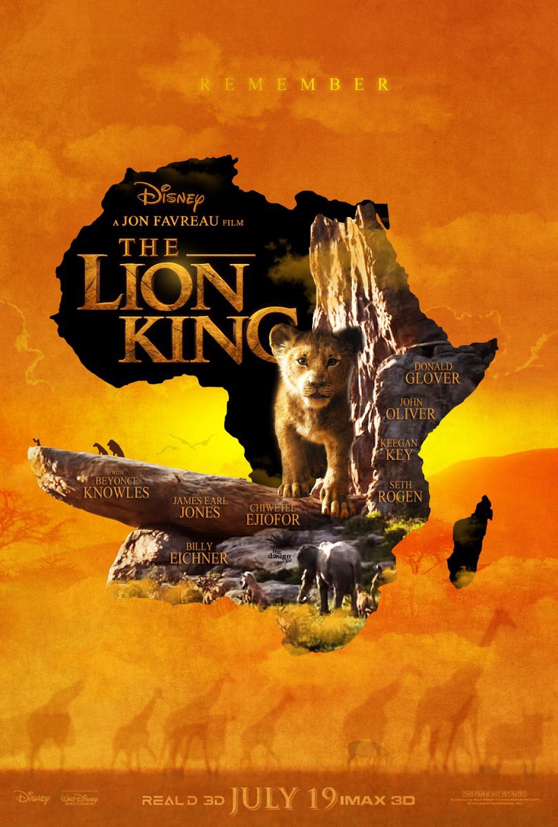 The Lion King (2019) Dual Audio Hindi ORG 720p BluRay x264 900MB ESubs