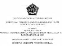 Gratis : Juknis Program Indonesia Pintar Pendidikan Keagamaan Islam 2016