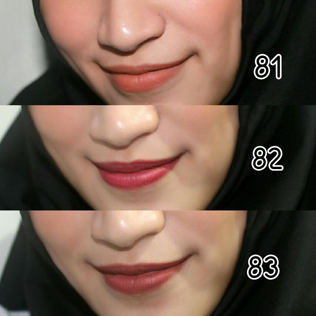 Fancy Vanilla Review And Swatches Purbasari Lipstick Matte Lipstik Paling  Original Ini Foto Yang Mendekati Warna Asli Tiap Shadesnya Semoga Bisa Membantu Kalau Kalian Bingung Mau Beli Nomor Berapa Hooooo