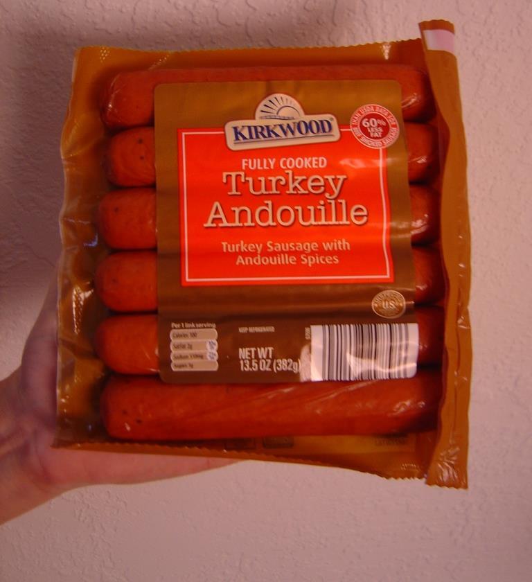 Kirkwood Turkey Andouille Sausage