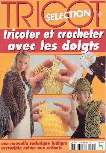 2 Revistas Tricot con los Dedos