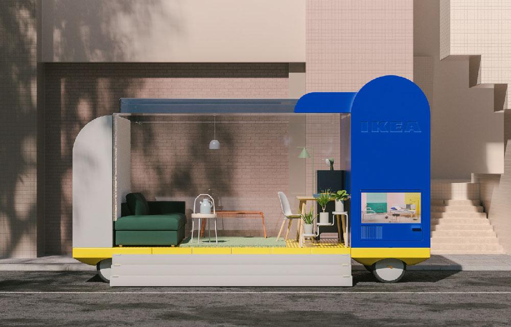 Ikea Progetto Ufficio : Ikea lancia il progetto di veicoli elettrici senza conducente