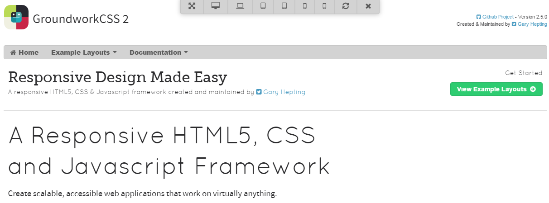 HTML5 Responsive Frameworks for Web Developers