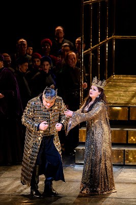 Verdi: Macbeth - Željko Lučić, Anna Netrebko - Royal Opera (Photo Bill Cooper)