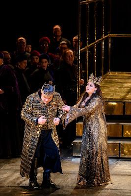 Verdi: Macbeth - Željko Lučić, Anna Netrebko - Royal Opera (Photo Bill Cooper)