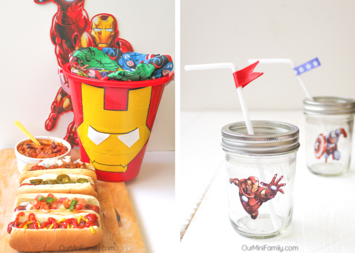 Super Hero Movie Night Party Ideas Our Mini Family