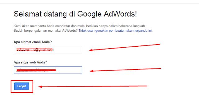 adwords start