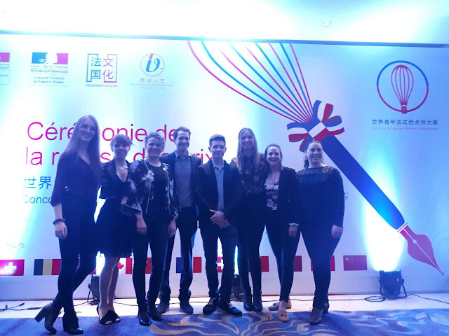 Fête de la francophonie en Chine - Concours pâtisserie à Changsha Ann-Rika Martin