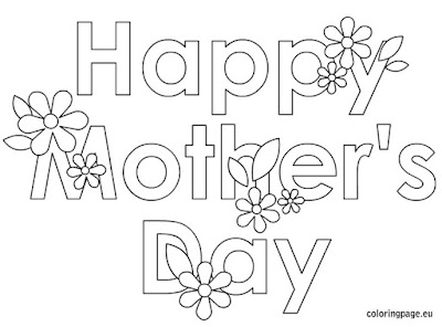 free printable mothers day coloring pages kids