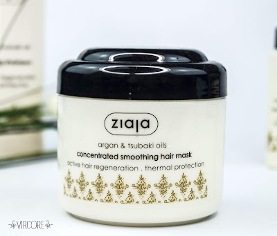 ziaja Argan & aceite de Tsubaki.