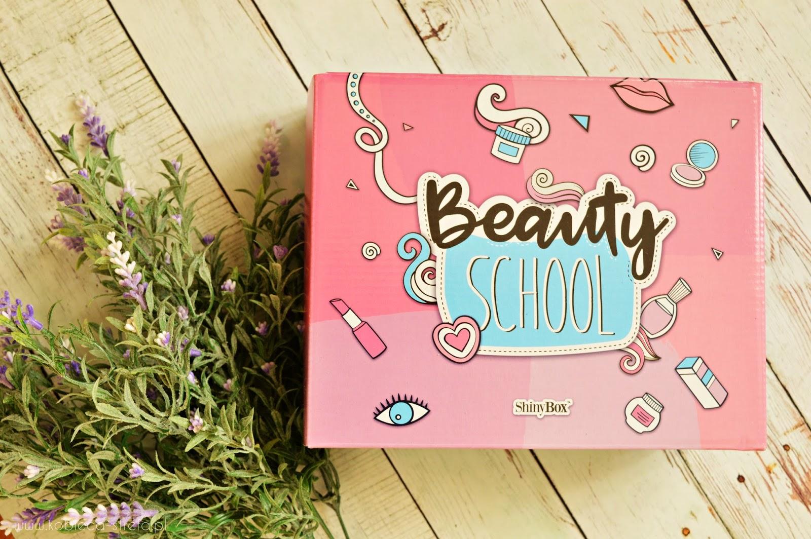 Beauty School - wrześniowe pudełko Shinybox