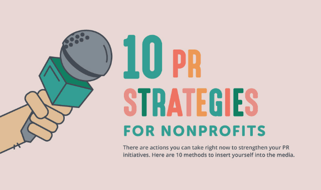 10 PR Strategies for Your Nonprofit