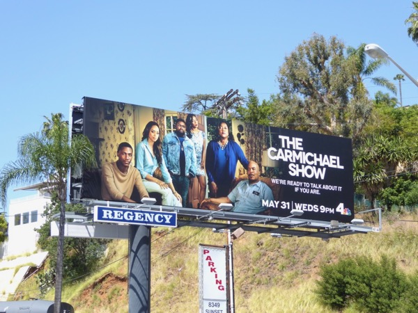 Carmichael Show season 3 billboard