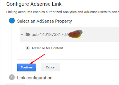how to link adsense to analyticcs