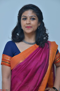 Supriya in Pink Saree Cute Beauty Latest Pics March 2017
