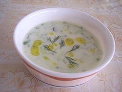 Çaçik (sopa Fría De Yogur Y Pepino)