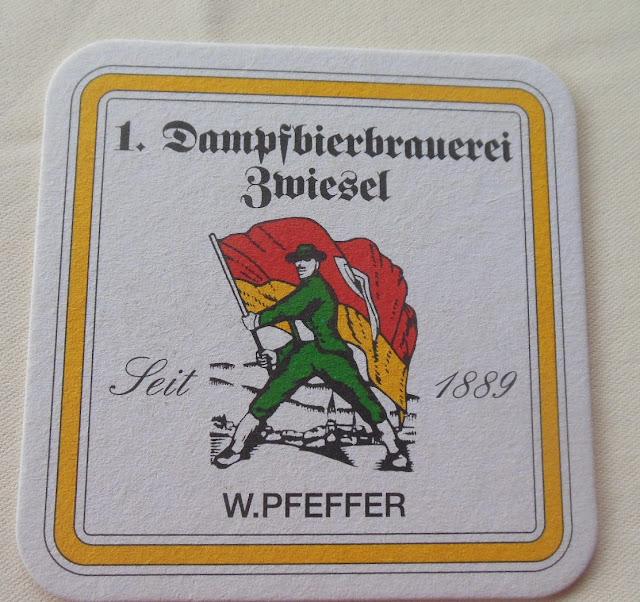 Gasthof zur Waldbahn, Zwiesel, beer coaster