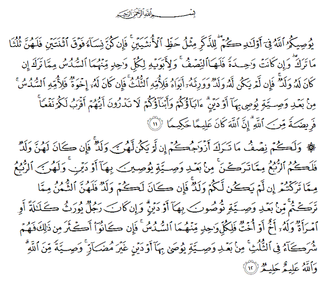 Aturan Warisan Dalam Islam Masrozak Dot Com