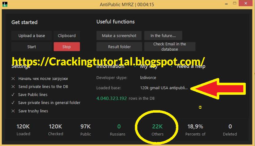 Combolist HQ Premium Accounts Cracking tool Youtube Videos: 22k
