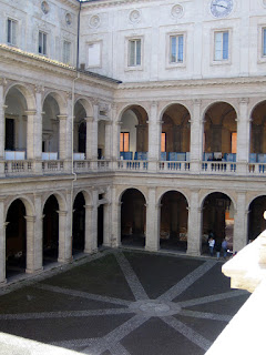 The palazzo near Piazza Navona used to house Rome University