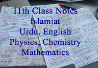 Physics 1st Year Notes all Chapters PDF Download - Rashid Notes