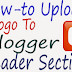 How to Add A Logo To Blogger