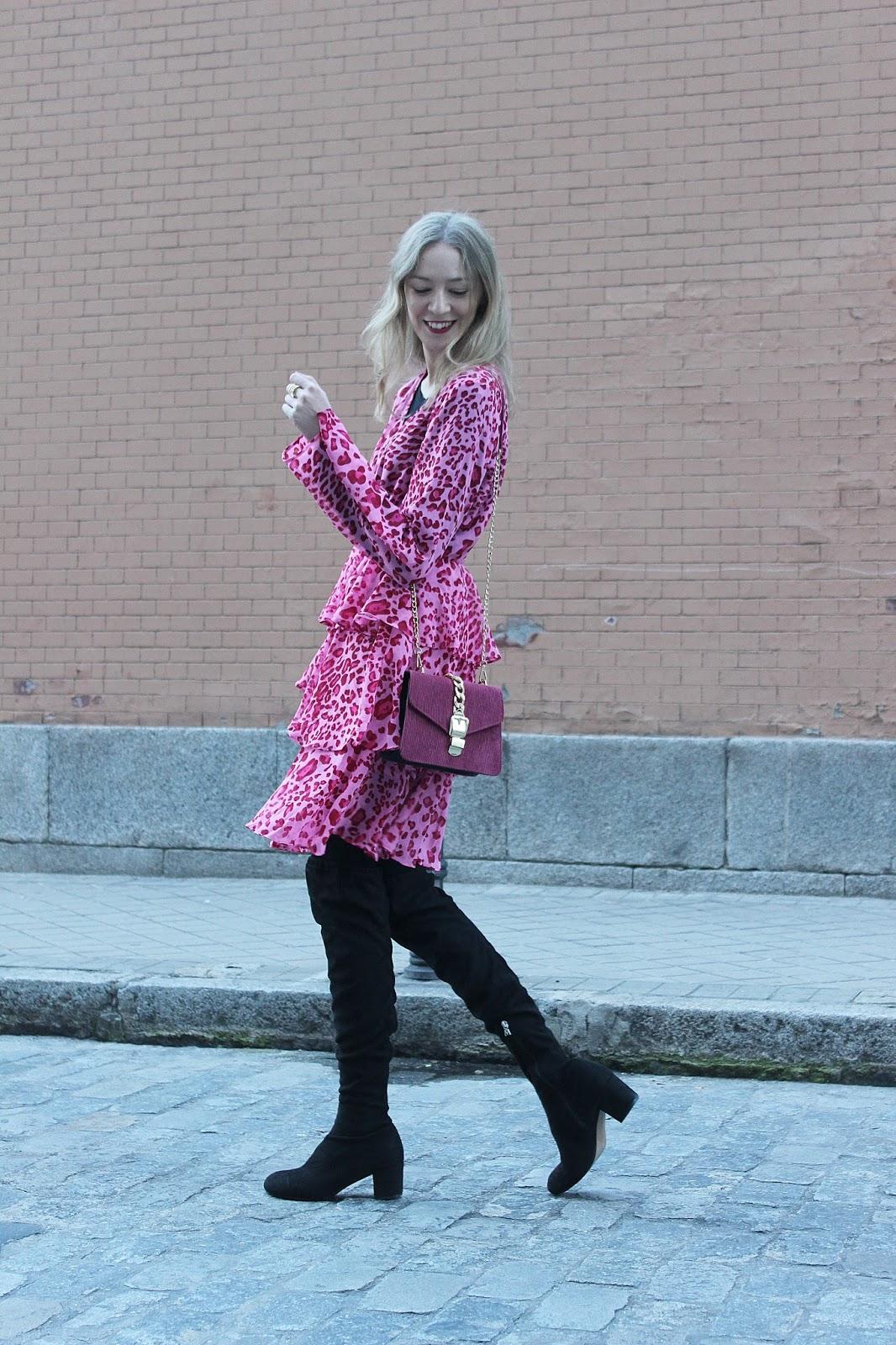 leopard-print-chiffon-dress-ruffles-nakd-fashion