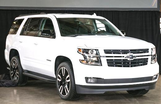 2018 Chevrolet Suburban RST Edition