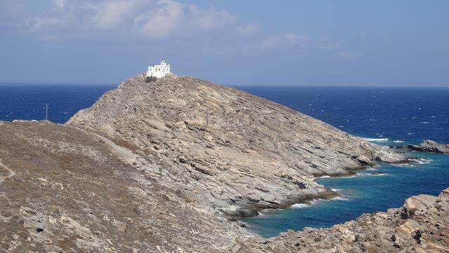 Korakas lighthouse in Paros. A place of history.