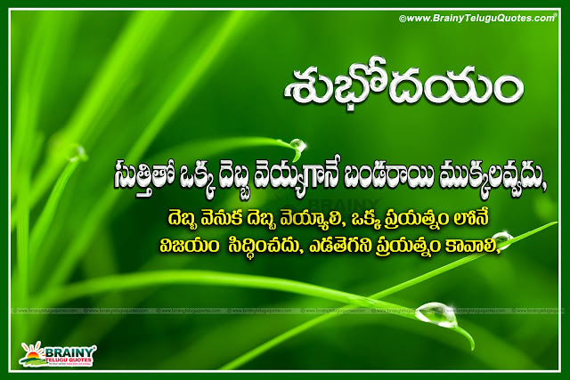 Best Telugu Good Morning Quotes With Beautiful Images And Wallpapers