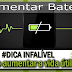Como aumentar a vida útil da bateria #DICA INFALÍVEL