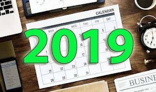Download Kalender 2019 Lengkap Plus File Corel Draw Gratis