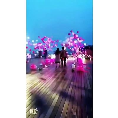 Ide Dekorasi Pesta Dengan Exploding Helium Balloon