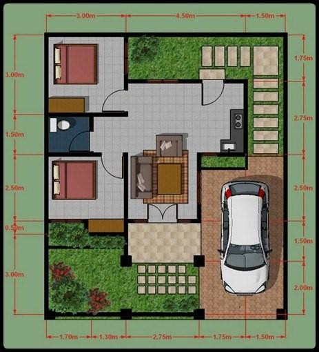 model rumah minimalis type 45 1
