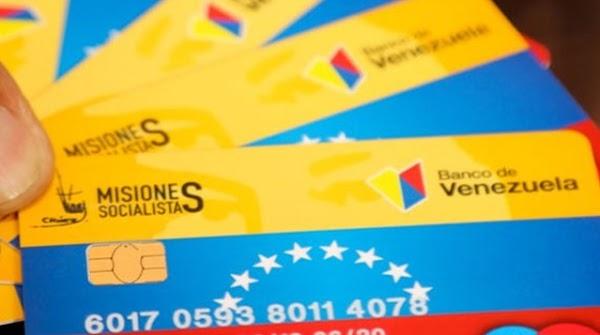 """Listado actualizado de beneficiarios de la """"tarjeta Misiones Socialistas"""""""