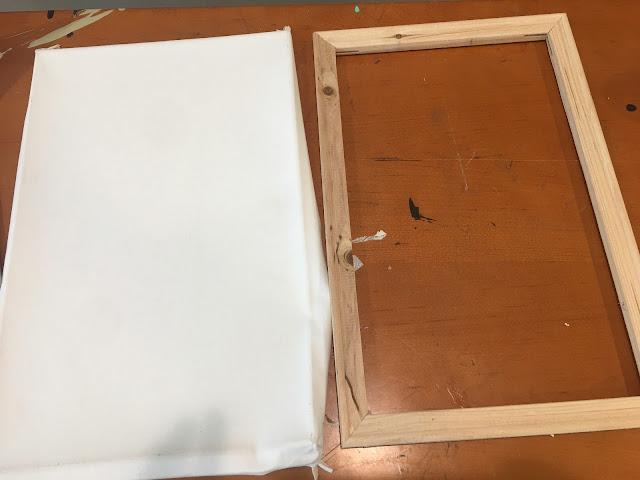 Reverse canvas, heat transfer vinyl, reverse canvas sign, CAMEO beginner tutorials, silhouette project ideas