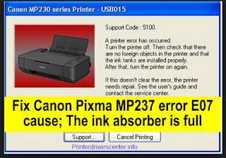 How to Reset Canon MP237 Printer Easily and Quickly