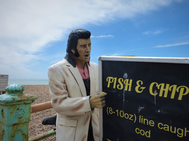 Fish and chip shop on Brighton Beach