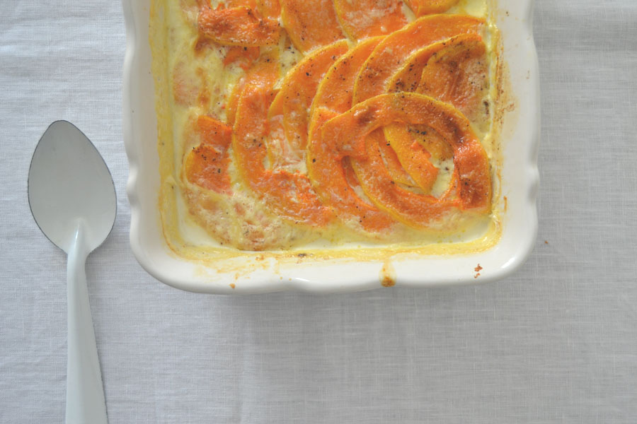 recette gratin dauphinois courge butternut spoonencore