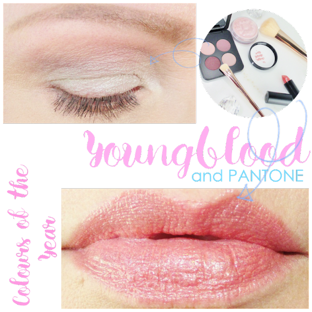 Youngblood and Pantone Rose Quartz and Serenity-Eyes and Lips- notesfrommydressingtable.com