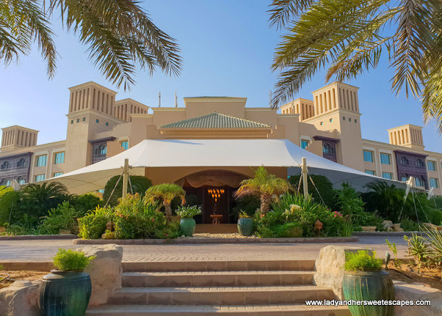 luxury accommodation in Sir Bani Yas Island