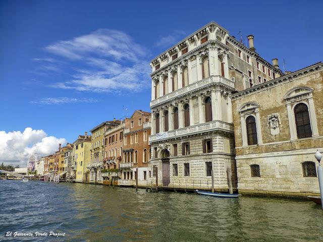 Palacios del Gran Canal en Cannaregio - Venecia por El Guisante Verde Project