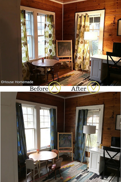 How to update curtains with dye
