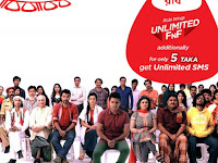 Robi unlimited SMS pack for only 5 taka