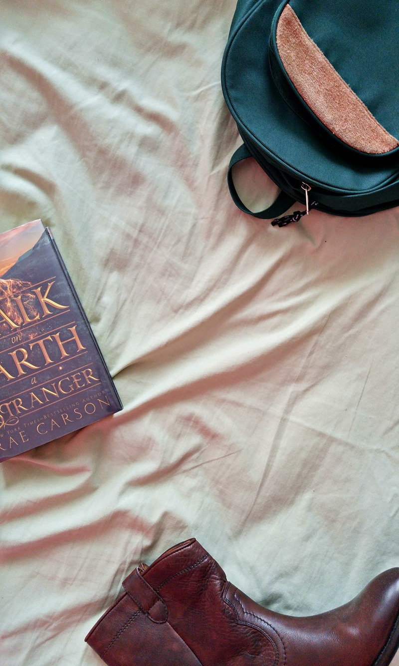 For Your Inner Calamity Jane: Walk on Earth a Stranger by Rae Carson| Read it on www.itsalamb.com #WalkOnEarthAStranger #BookReview #Reading #Books